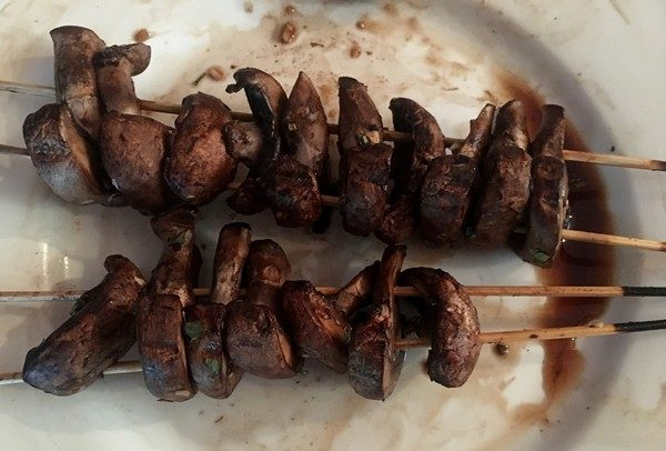 Accidental Locavore Marinated Grilled Mushrooms