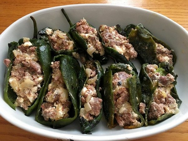 Accidental Locavore Peppers Stuffed With Chorizo
