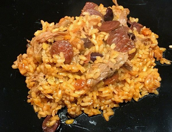 Accidental Locavore Duck Rice With Apricots