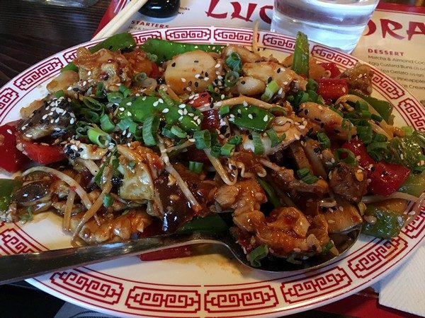 Lucky Dragon Chicken
