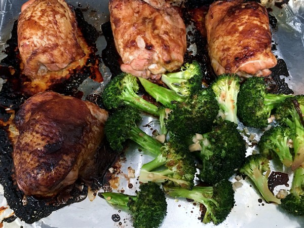 Accidental Locavore Hoisin Chicken and Broccoli Baked