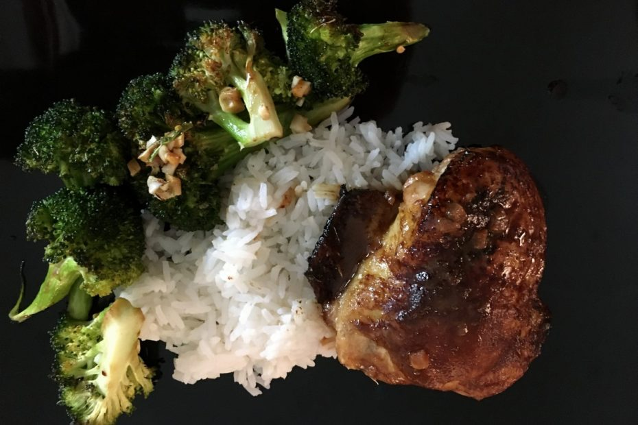 Accidental Locavore Hoisin Chicken and Broccoli Plated